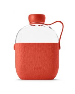 Hip bottle 22oz/650ml in tray - Coral
