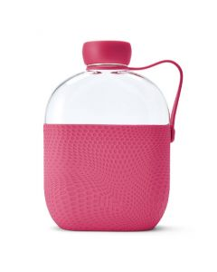 Hip bottle 22oz/650ml in tray - Hot Pink