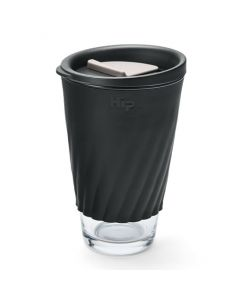 Hip Cup Glass 12oz/355ml - Midnight & Stone