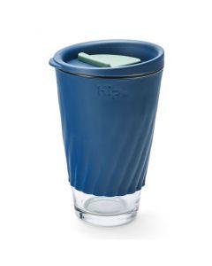 Hip Cup Glass 12oz/355ml - Space & Sage