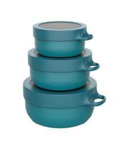 HIP with Purpose, Bowls made with OBP, (set of 3 -350/750 and 1.25L), Jade