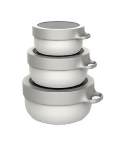 HIP with Purpose, Bowls made with OBP, (set of 3 -350/750 and 1.25L), Cloud