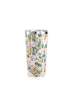 16oz/475ml Corkcicle Tumbler  - Rifle Pink Tapestry