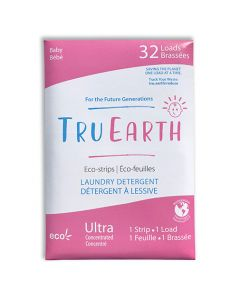 Tru Earth Eco-Strips Laundry Detergent - Baby - 32 loads