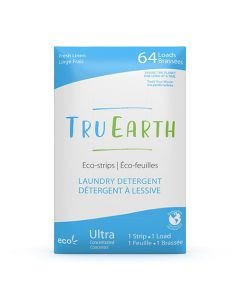 Tru Earth Eco-Strips Laundry Detergent - Fresh Linen - 64 loads