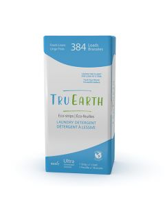 Tru Earth Eco-Strips Laundry Detergent - Fresh Linen - 384 loads