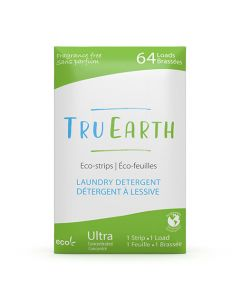 Tru Earth Eco-Strips Laundry Detergent - Fragrance Free - 64 loads