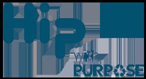 hip with purpose logo